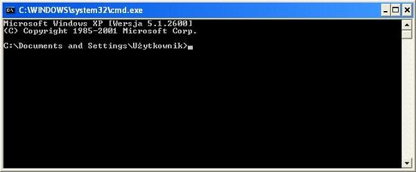 Podstawy Obsługi Konsoli Poleceń Cmd W Systemie Windows